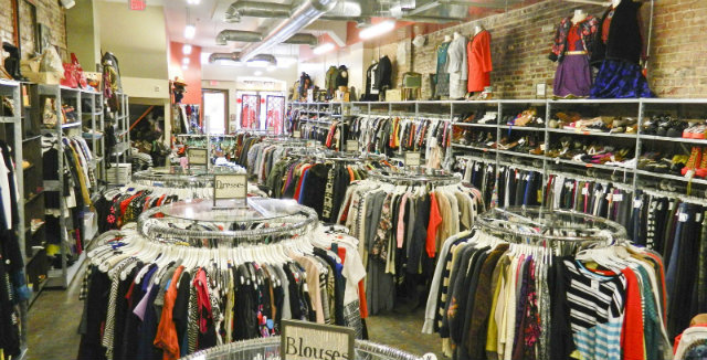 9bd1b565b3 The Logan Circle location is on the smaller side, but it is well stocked  (Courtesy of Buffalo Exchange)