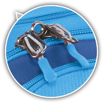 #10 self-repairing lockable zippers