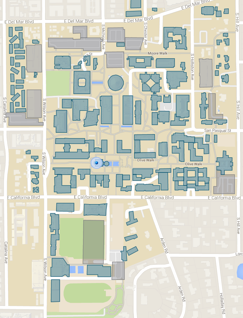 Caltech Campus Map Caltech Campus Map_ – Kingjaap