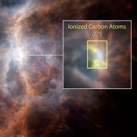 Orion Nebula as seen by Herschel