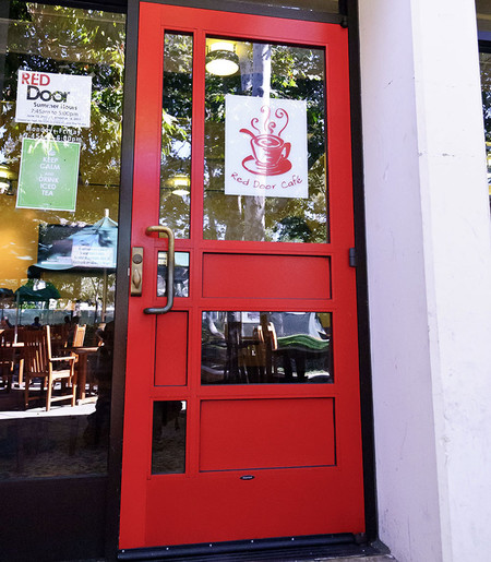Perfect The Red Door Café