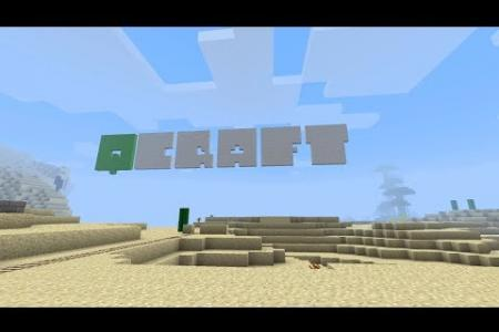 qCraft: A Beginner's Guide To Quantum Physics In Minecraft