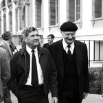 Richard Marsh with Linus Pauling
