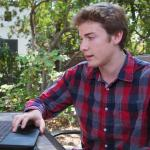 SURF participant and Caltech undergraduate Patrick Rall.
