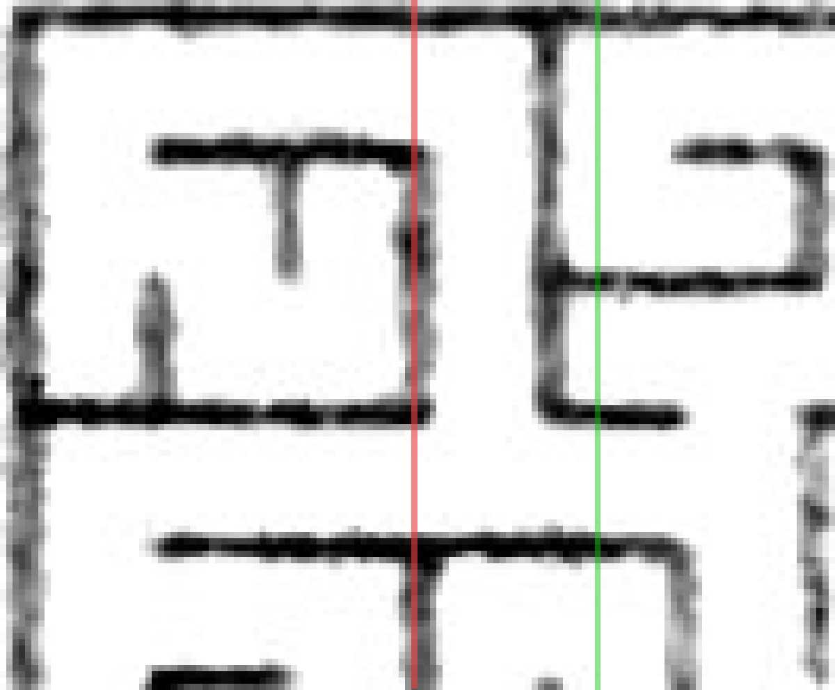 Maze Pixel Columns
