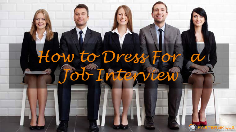 How to dress for a job interview 2