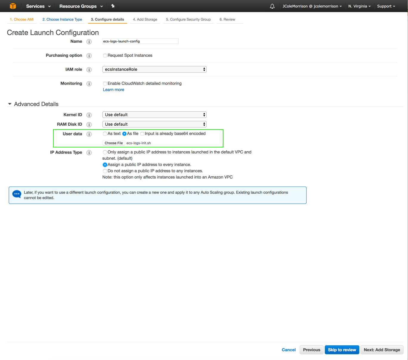 How to Setup Unified AWS ECS Logs in CloudWatch and SSM