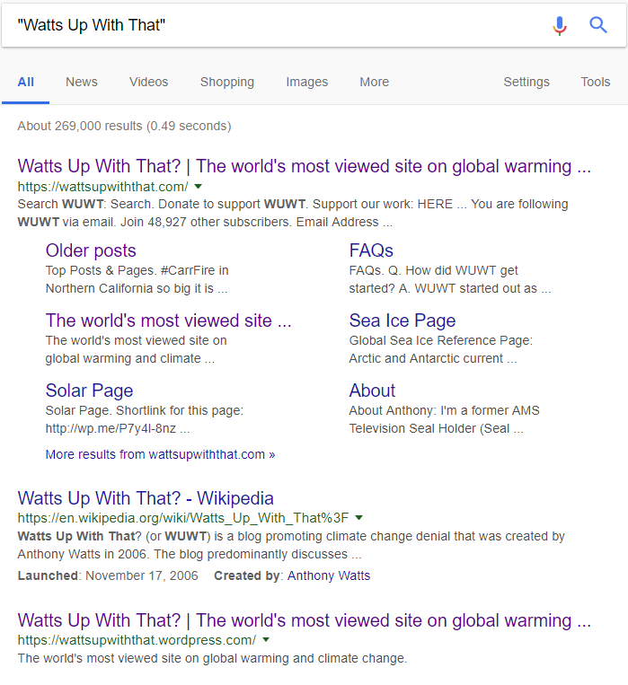 GOOGLE and the 'adjustment' of inconvenient viewpoints