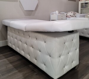 Luxury White Facial Bed