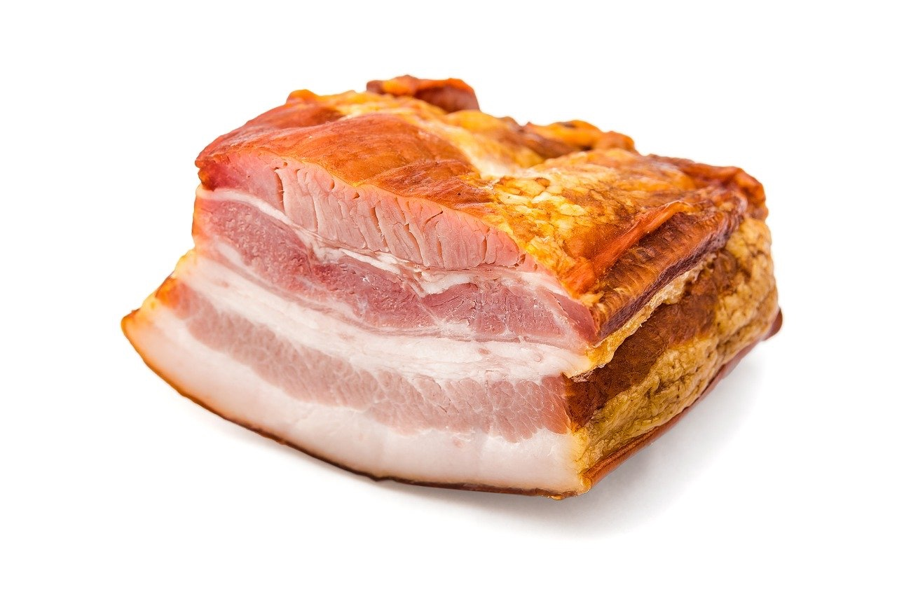 image of raw bacon