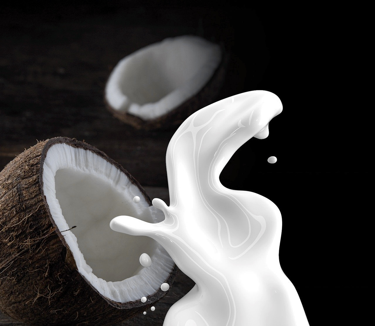image of coconut milk