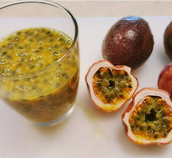image of passion fruit juice