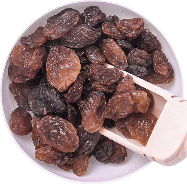 image of raisins