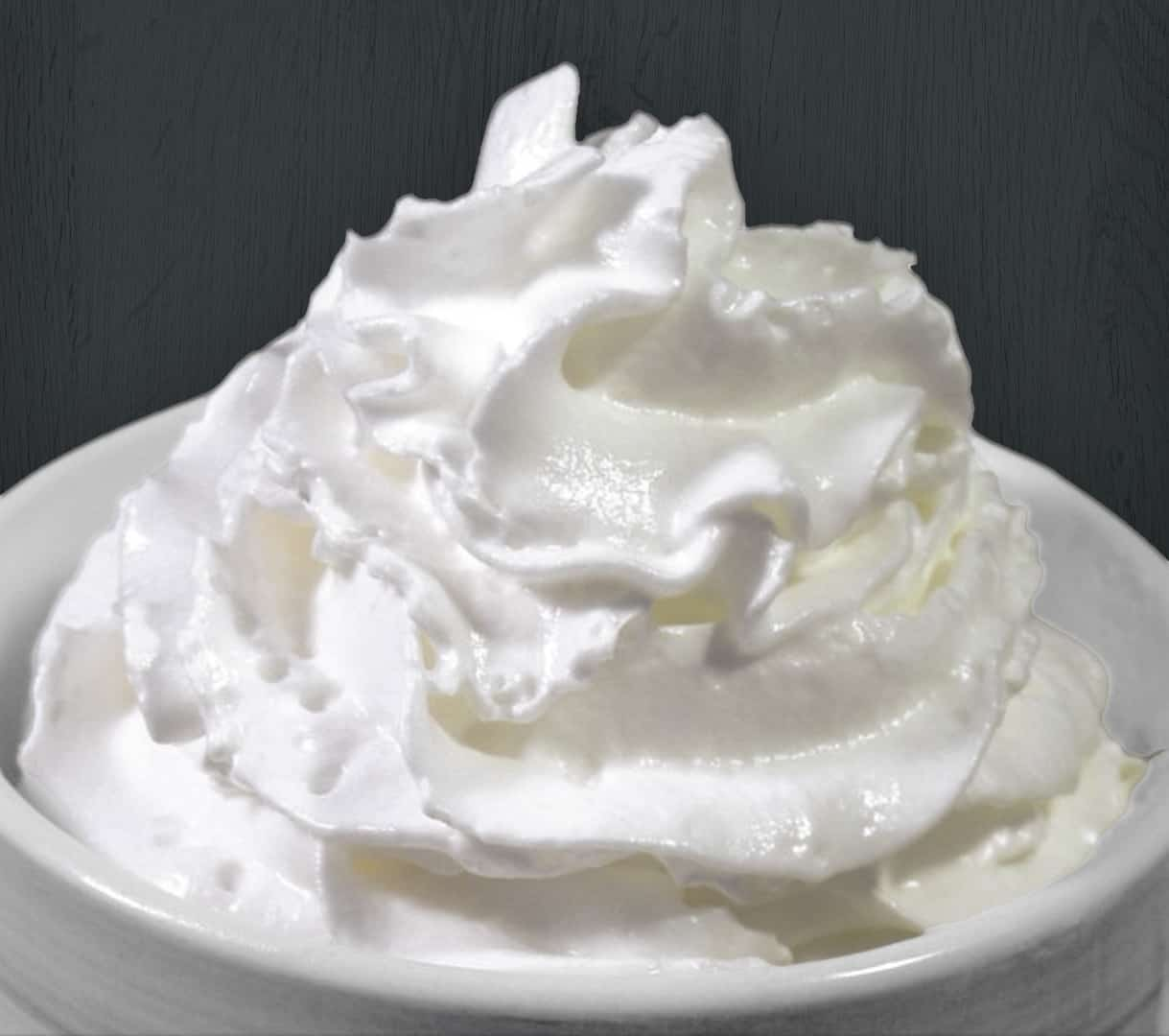 image of whipping cream