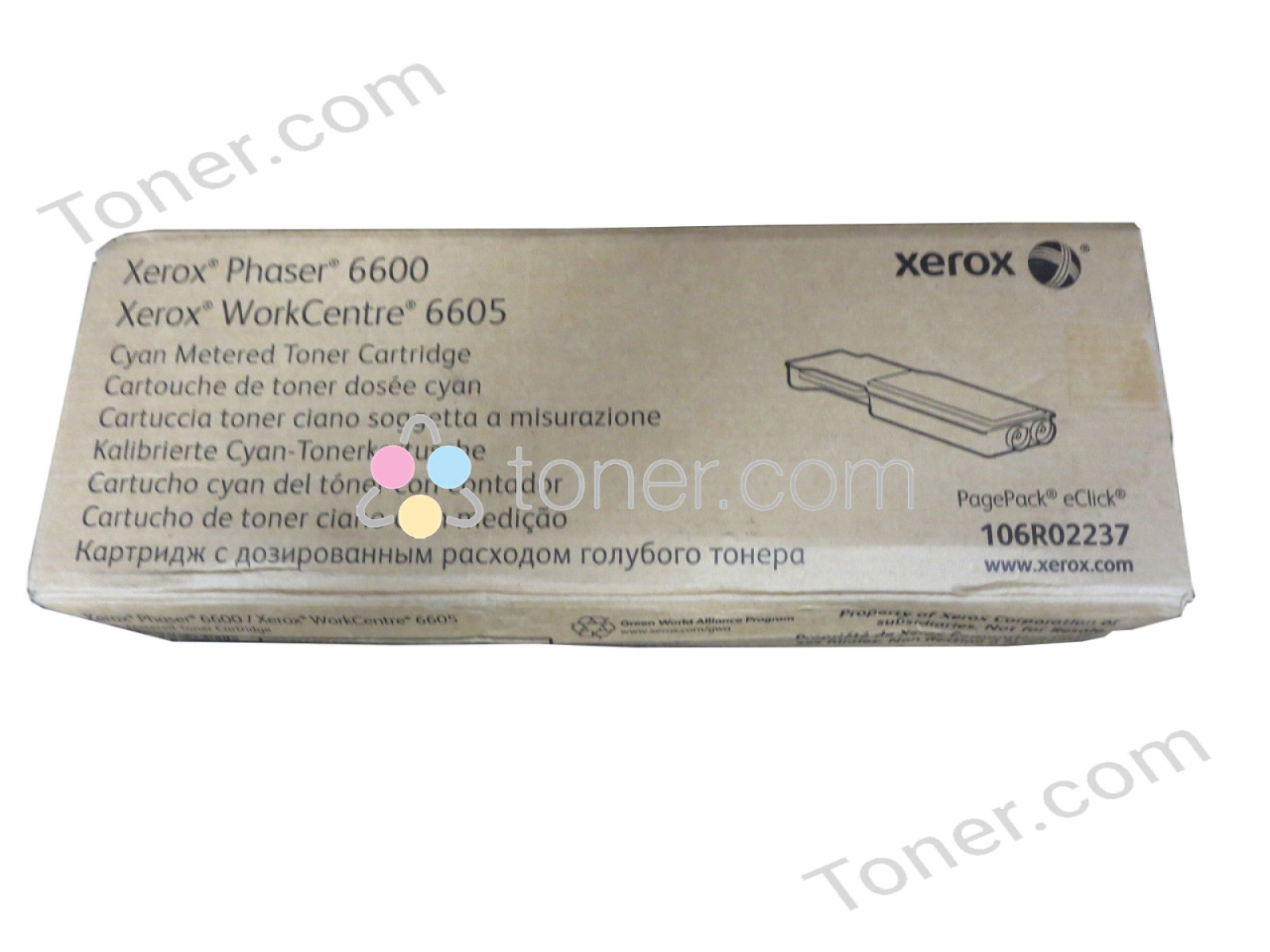 Xerox 106R02237,CT202015,1P106R2237,1P106R02237,106R2237 XEROX