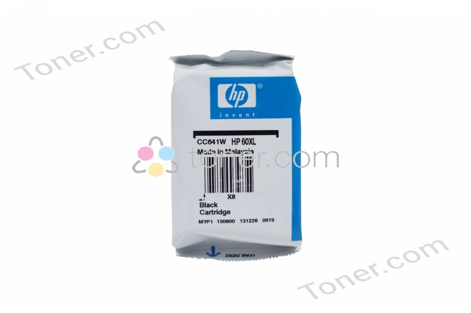 Hewlett Packard Hp 60xl Black Us Ink Cartridge