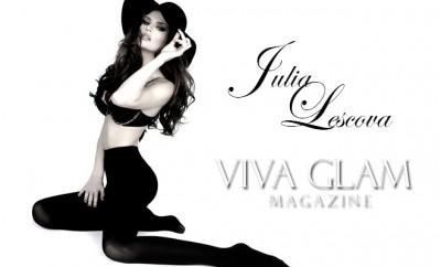 February 2012 cover model Julia Lescova