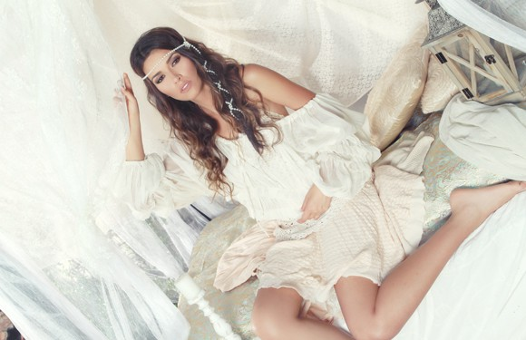 July 2012 Cover Model Sofia Pernas Viva Glam Magazine