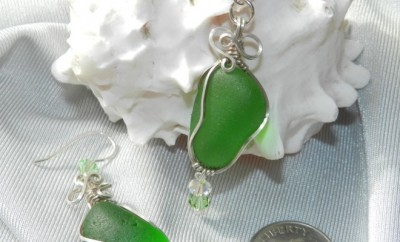 Be Beach Chic this Summer with Wilton Artisans Sea Glass Jewelry