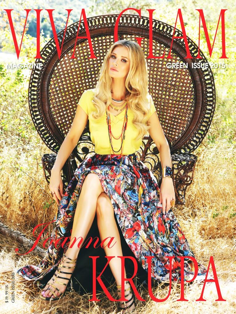 Joanna Krupa VIVA GLAM MAGAZINE cover