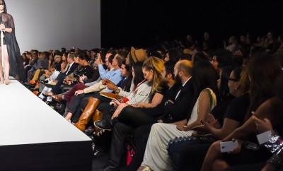 Katarina Van Derham attends LA STYLE Fashion Week