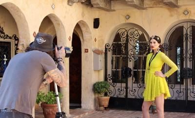 Behind the Scenes of the Glamarella Couture VIVA ITALIA Campaign
