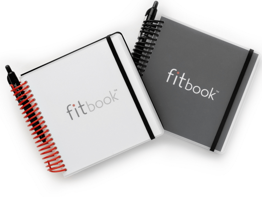 fitbook, fitness and nutrition journal, food log journal