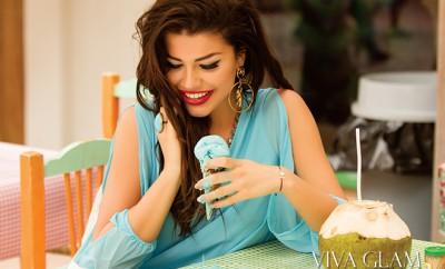 karolina chomistekova viva glam magazine supermodel mexico sayulita cashmere hair fashion editorial