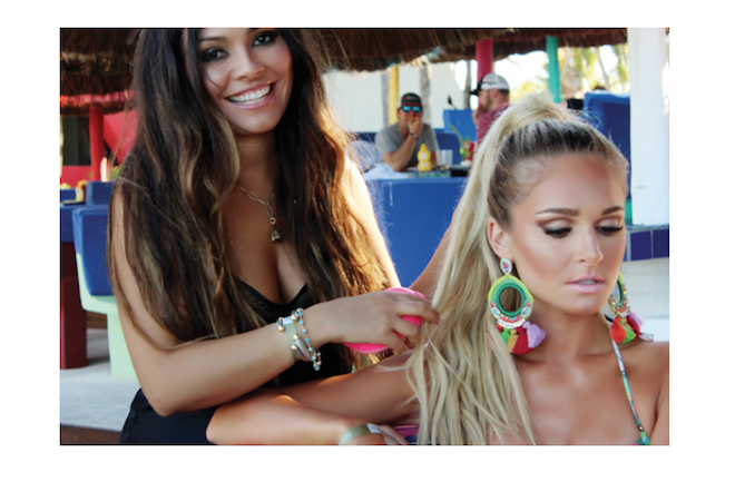 Hairstylist to the Stars Angelica Curiel Talks Beach Hair Tips