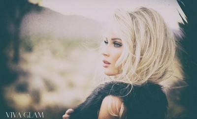 VIVA GLAM MAGAZINE LIV JAEGER Glamarella Couture Cashmere Hair Farnsworth viva glam supermodel. western couture bohemian faux fur
