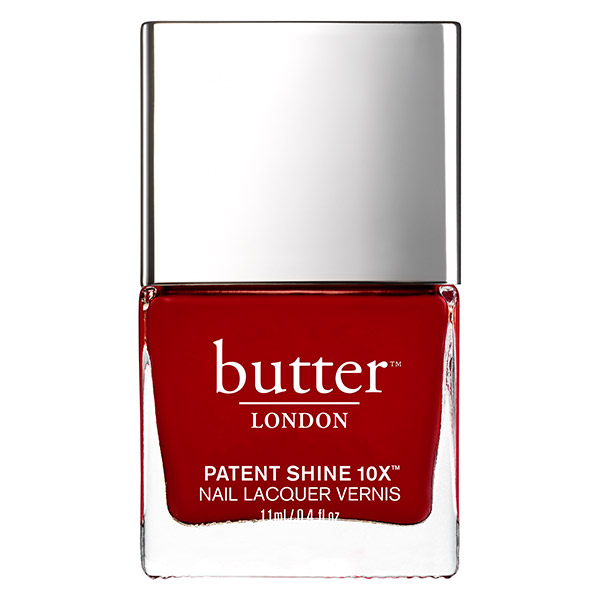 Beauty for Awards Season Butter London red nail lacquer