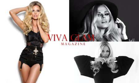 VIVA GLAM Magazine Classic Glam Issue Flip Cover Scarlett Burke fashion