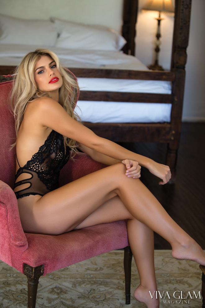 Top 20 Sexiest-2017-Paige-Collings-Korakia-Pensione-black-lingerie, Photographer Deja Jordan Makeup Hair Yaniv Katzav