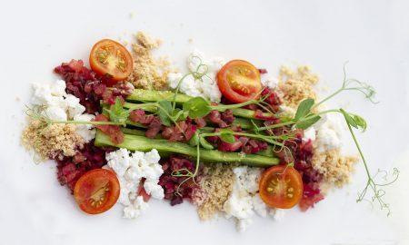vegetarian food plate