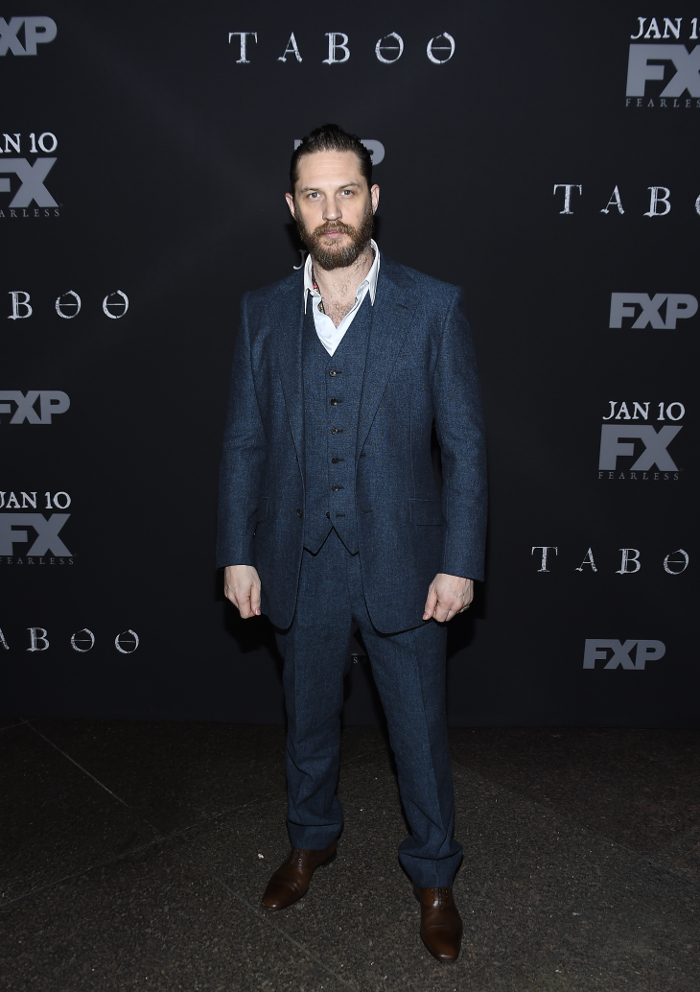 Hollywoods Sexiest Men of 2018 Tom Hardy
