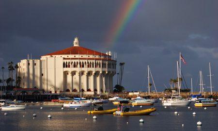 catalina island, casino, california
