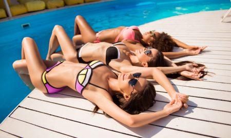 bikini, beach girl, swimsuit