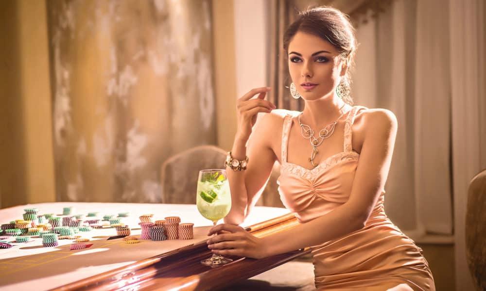 Image result for gambling women