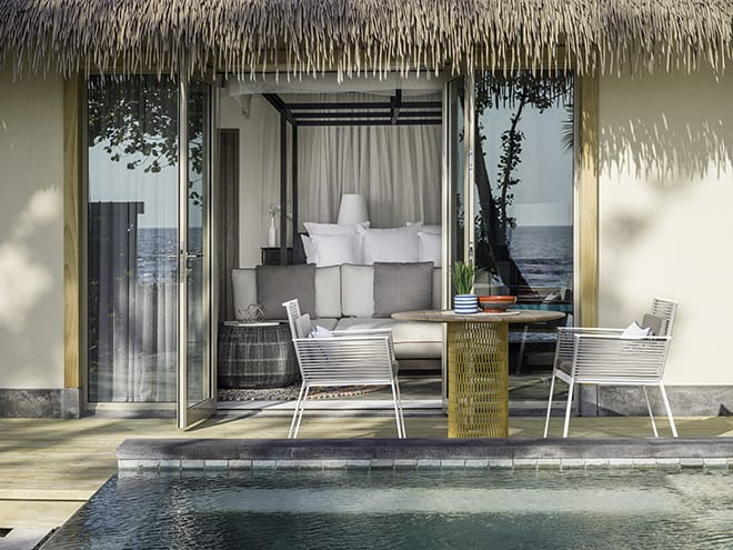 InterContinental-Maldives-Outdoor Pool Deck-Beach-Villa-with-Pool