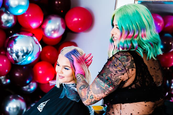 Lasio-Live_Life_Frizz-Free-Pop-Up_event-Color-Room