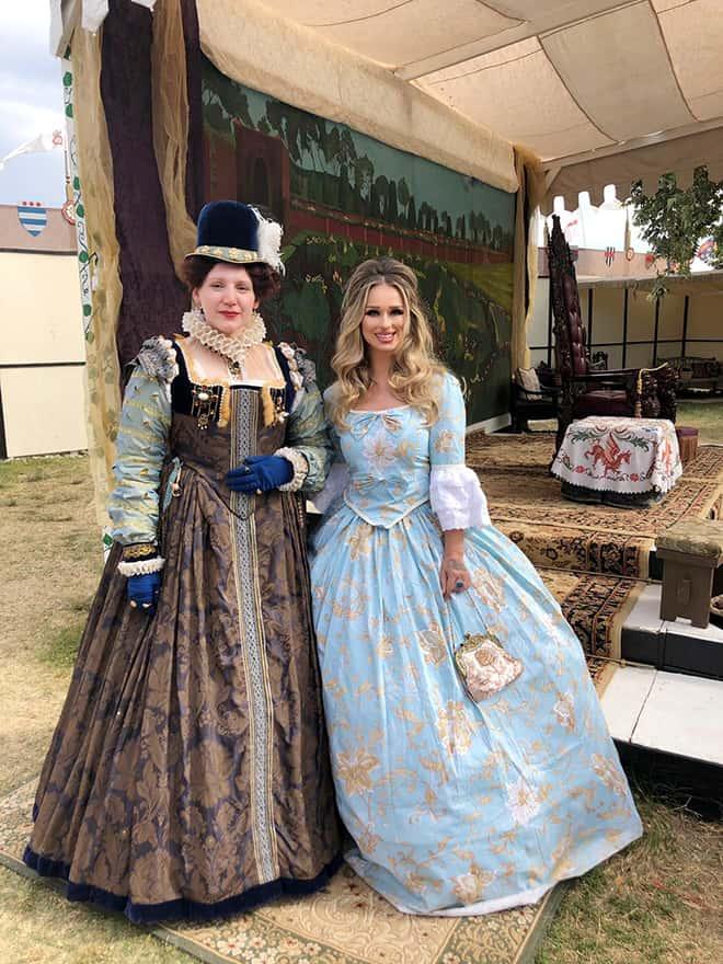 The-Original-Renaissance-Pleasure-Faire-Breathes-New-Life-into-the-Fantasies-of-the-Past-Katarina-Van-Derham-and-the-queen