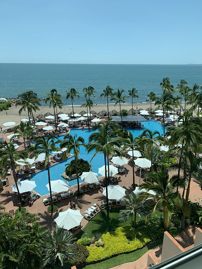 where-to-stay-in-puerto-vallarta-sheraton-buganvilias-view-from-the-pool