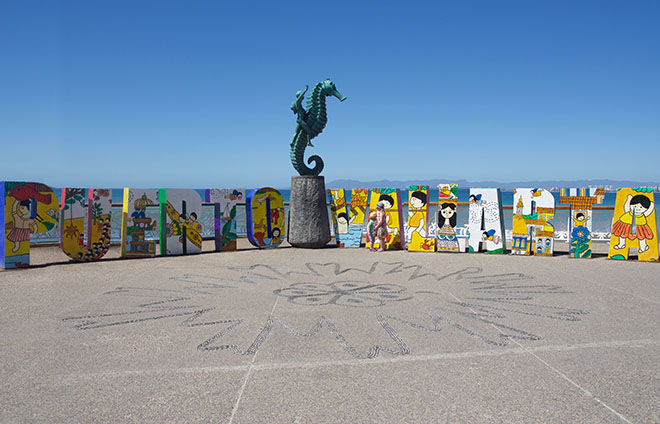 why-you-should-visit-puerto-vallarta-art-malecon-seahorse-malories-adventures
