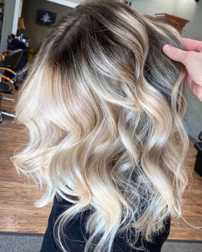 balayage hair colors for fall