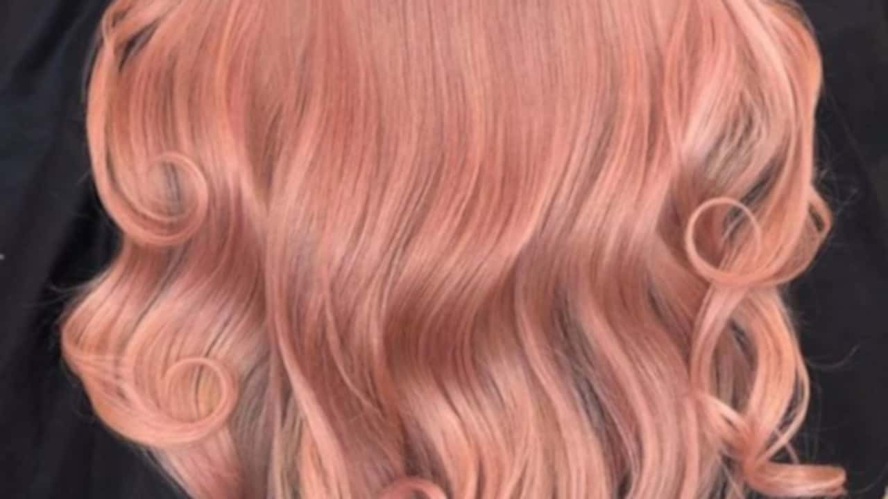 warm hair colors for fall
