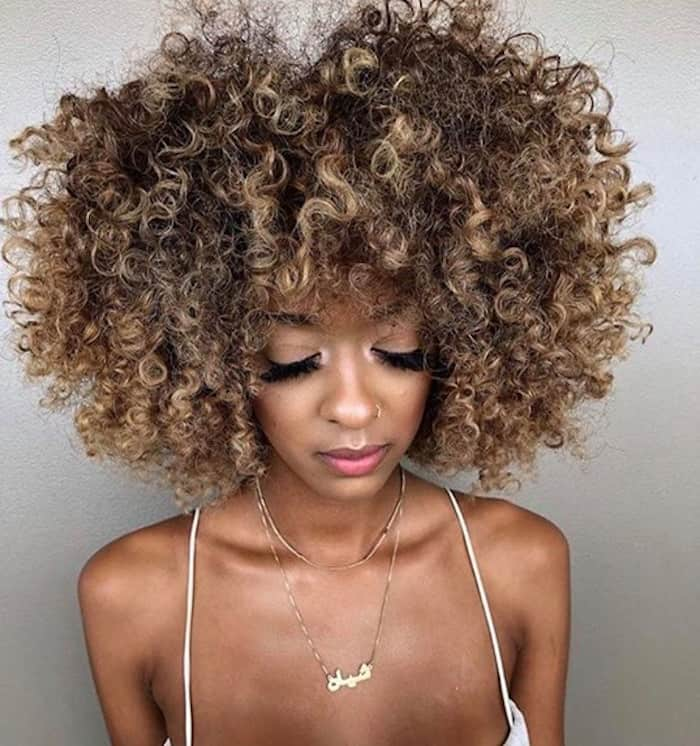 smoky gold hair color trend for fall