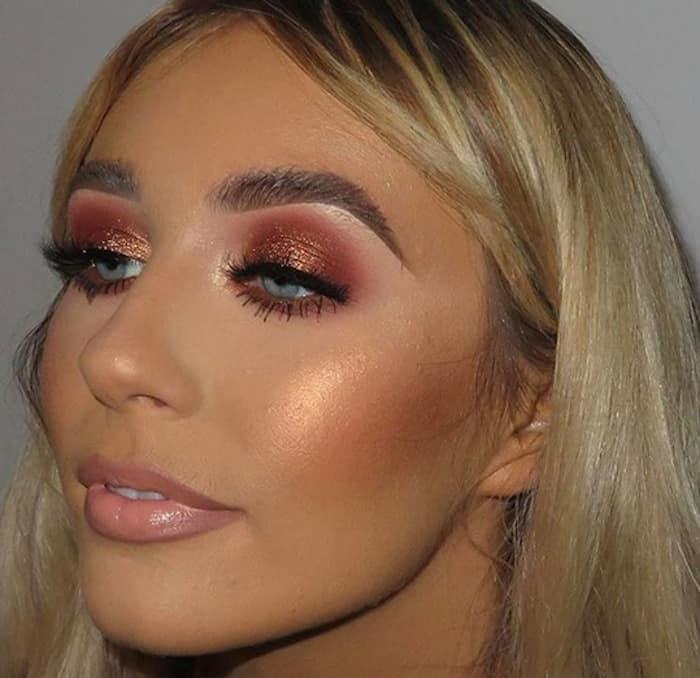 wearable glitter makeup looks
