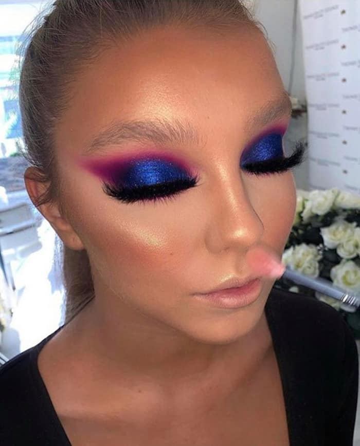pantone color of the year 2020 classic blue makeup