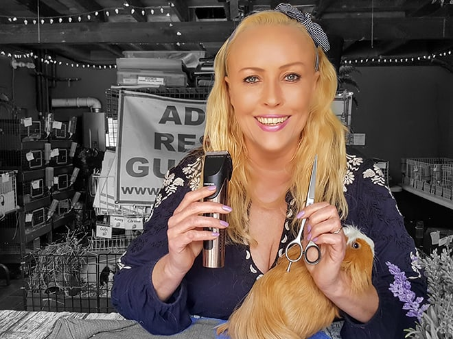 saskia-chiesa-guinea-pig-rescue-haircut-viva-glam-magazine