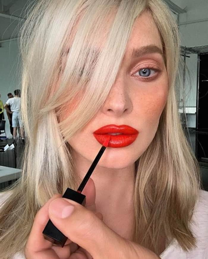 bold lip celebrity makeup